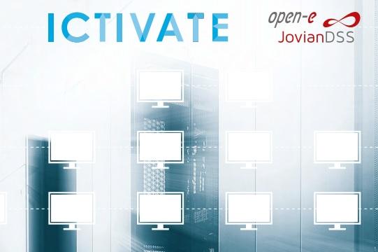 Storage oplossingen aangeboden door ICTIVATE en Open-E.